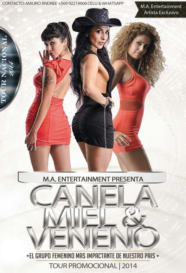 Canela, Miel & Veneno (Trio Cantantes)
