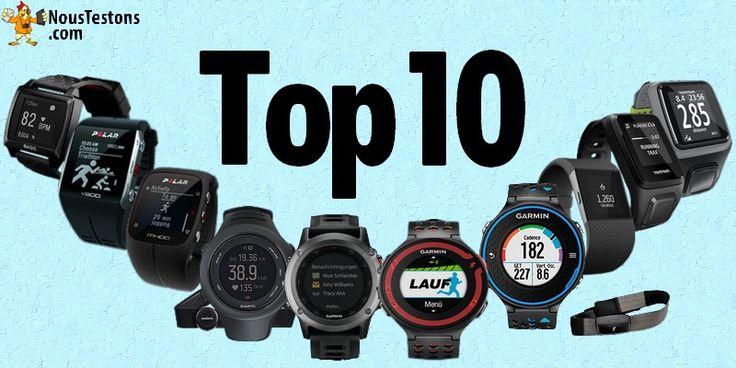 Top 10 des meilleures montres de running de 2015 - 2016