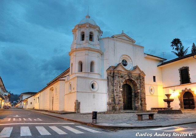 Santo Domingo Church, Popayan, Columbia