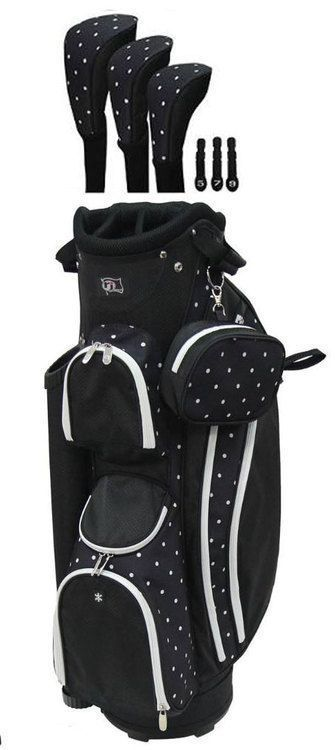 RJ Sports Ladies LB-960 Women's Golf Bag. This golf bag has been redesigned to offer maximum features while keeping the golf bag very light weight. At only 4.7 lbs, this bag is easy to lift and carry #GolfTips