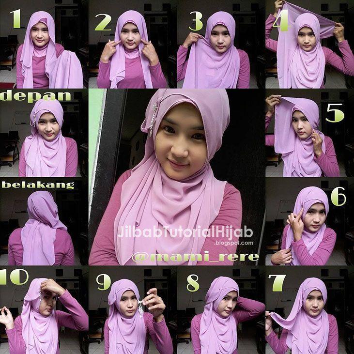 Tutorial Hijab Pashmina Buat Wajah Oval Pashmina Hijab Tutorial Pashmina Hijab Tutorial Hijab Tutorial Kebaya Turban Hijab W Hijab Tutorial Hijab Muslim Brides
