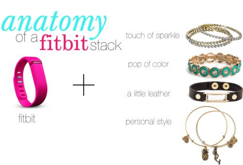 Arm candy: The Anatomy of a FITBIT bracelet stack feat. fitbit flex!