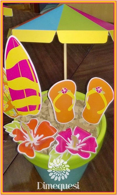Mucho color ! Todos los detalles del candy bar del festejo de Zoe inspirado en Teen beach movie.                                          ...