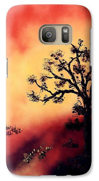 Way To The Light Galaxy S7 Case Printed with Fine Art spray painting image Way To The Light by Nandor Molnar (When you visit the Shop, change the orientation, background color and image size as you wish)