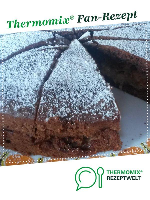 Dunkler Apfelkuchen – Thermomix Backen mit Obst