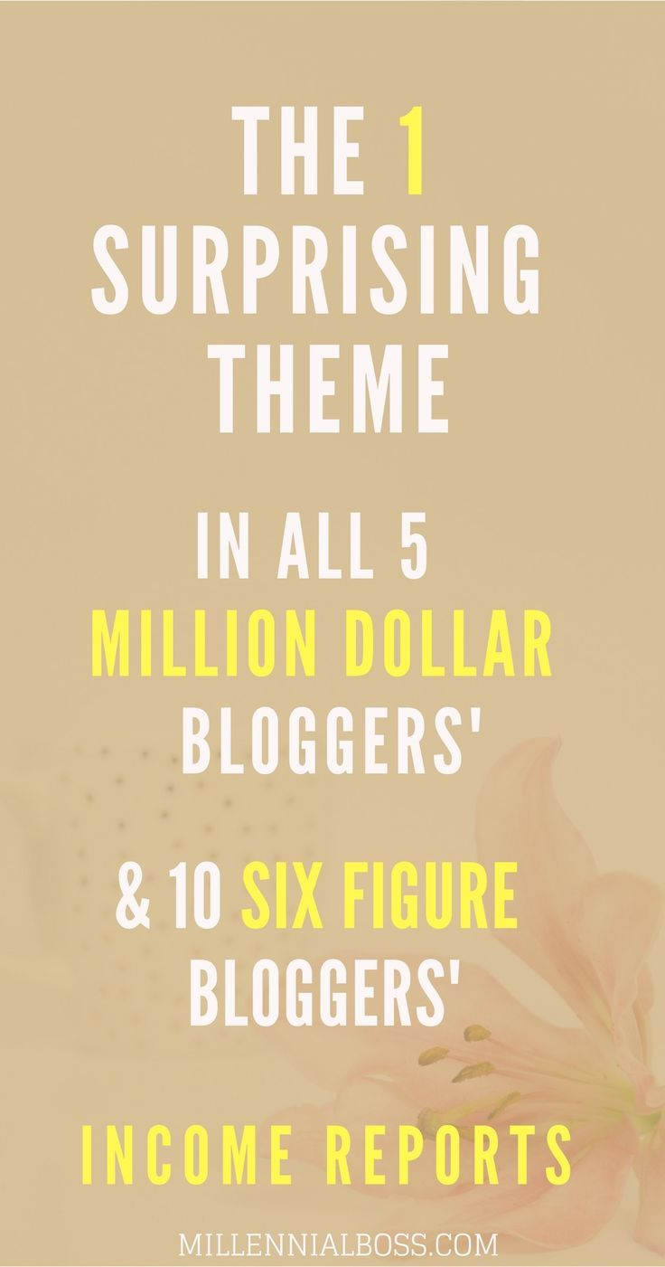WOW! This is totally true but I never saw this pattern in blogging income reports. All of the top bloggers have similar sources of income. Great read.