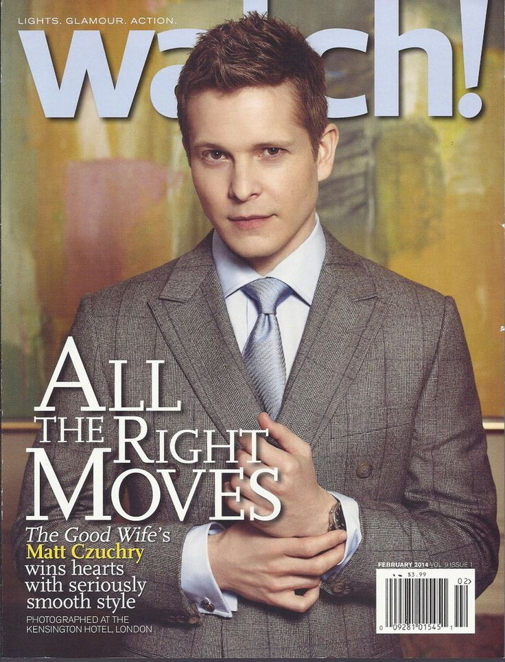 Matt Czuchry Watch Magazine Feb 2014 Good Wife Reign Mayim Bialik Thea Andrews