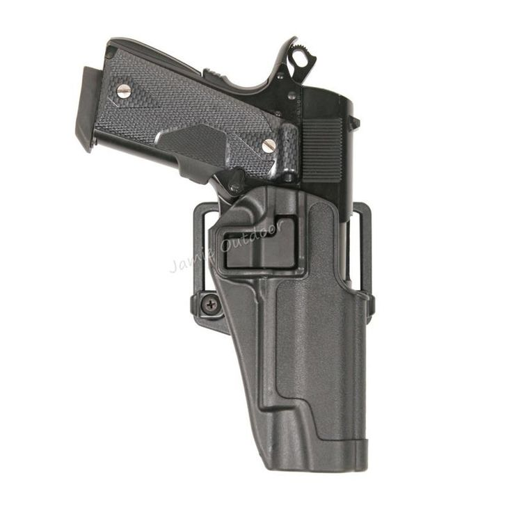 Military Tactical Holster For 1911 Pistols - Semiautos - Airsoft  - 3 Colors - Black, Tan, Green