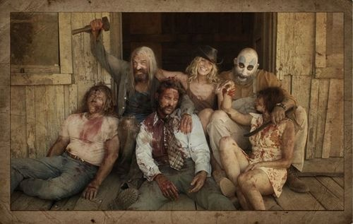 Cast shot from The Devils Rejects!