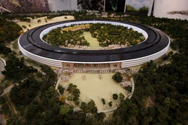 New Apple Campus in Cupertino – Fubiz™