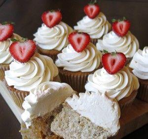 Strawberry cake - cake boss recipe!! Our favorite.