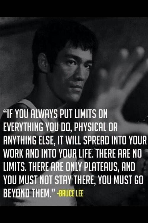 Wisdom from a legend who pushed himself mentally and physically daily. You can too 2/5/15