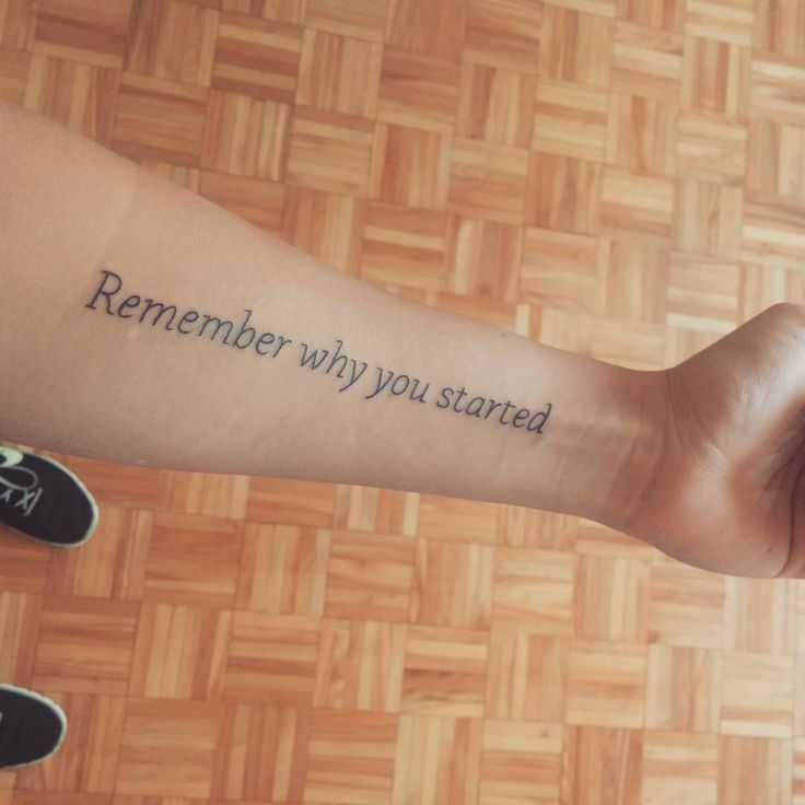 20 Beautiful Inspirational Tattoo Quotes For Men & Women Check more at http://tattoo-journal.com/15-promising-inspirational-tattoos/