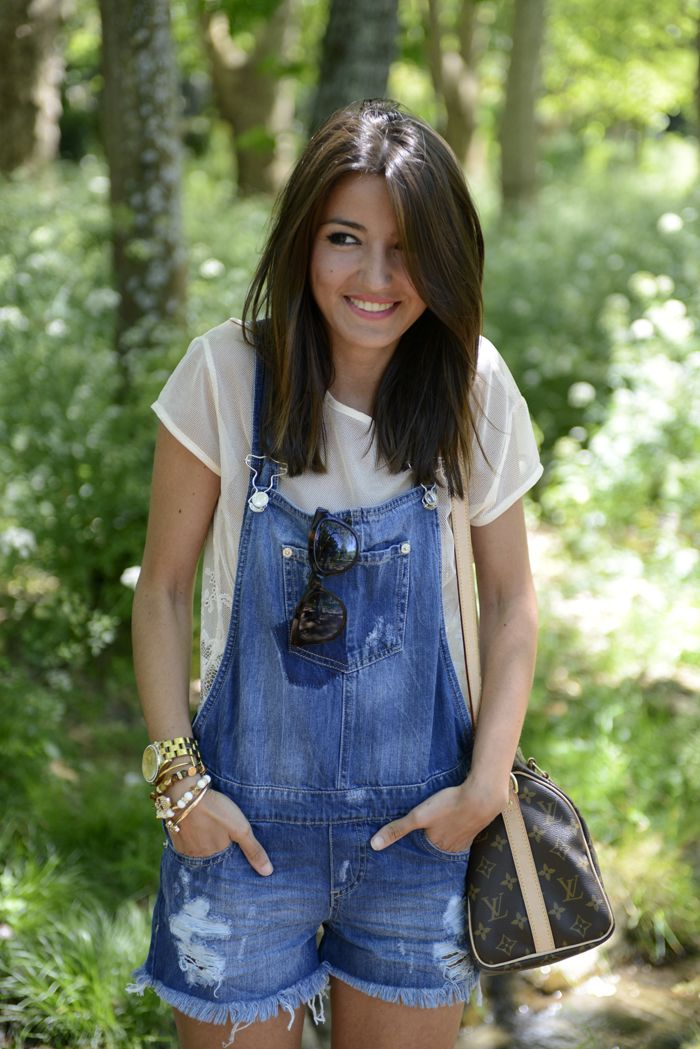 not really into overalls, but this pair is actually cute!