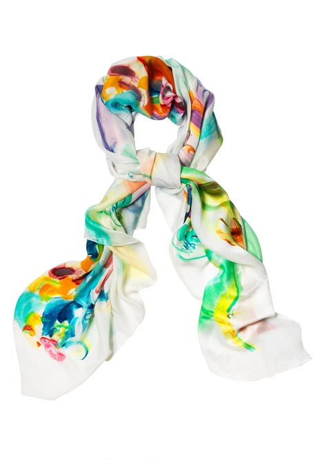 Limited edition silk satin sarong / scarf by Erin Petson, $195   Gallop Lifestyle - Mothers Day Gift Ideas