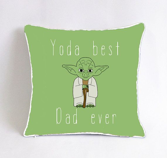 Yoda best dad ever pillowcase-star wars birthday by Pillow6218