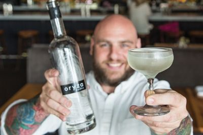 Cocktail Recipe: Cajun-American Meets Creole (and the bartender is cute too! scooooore!)