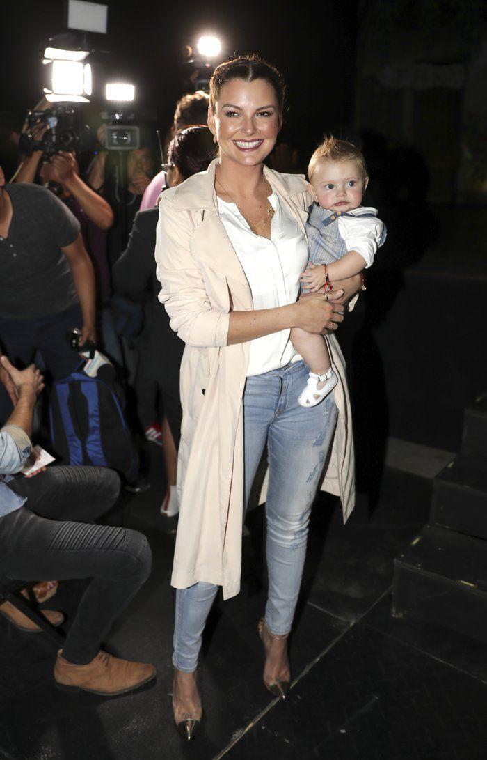 Marjorie de Sousa y su hijo Matías en un reciente evento en la Ciudad de México.