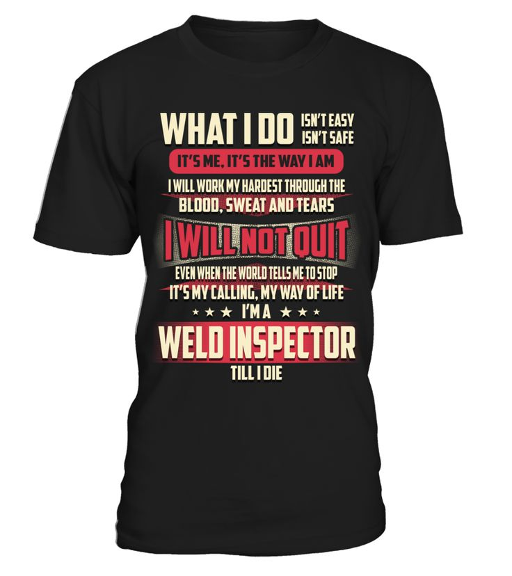 Weld Inspector - What I Do