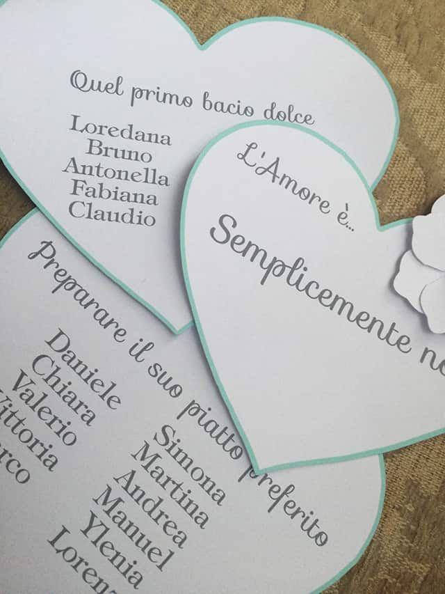 nomi tavolo amore