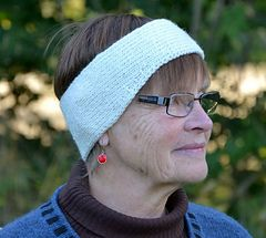 free knitting pattern - Extra wide headband/Extra brett pannband by Ann Linderhjelm