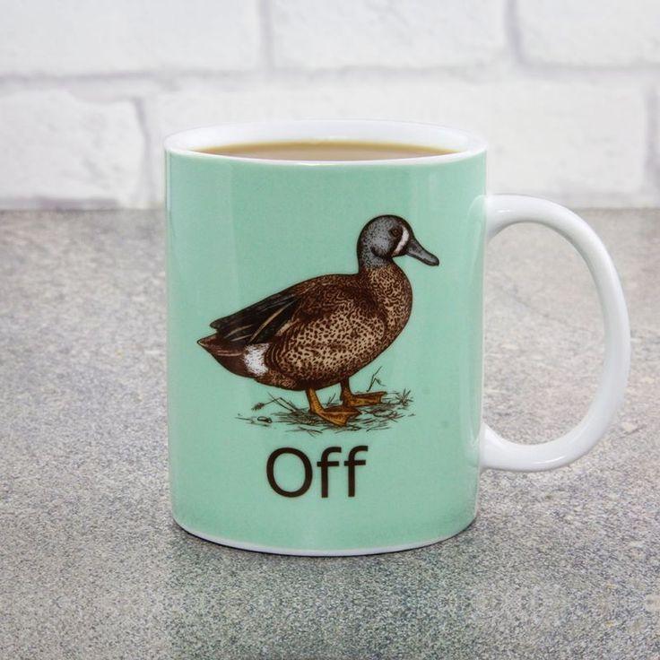 Duck Off Mug