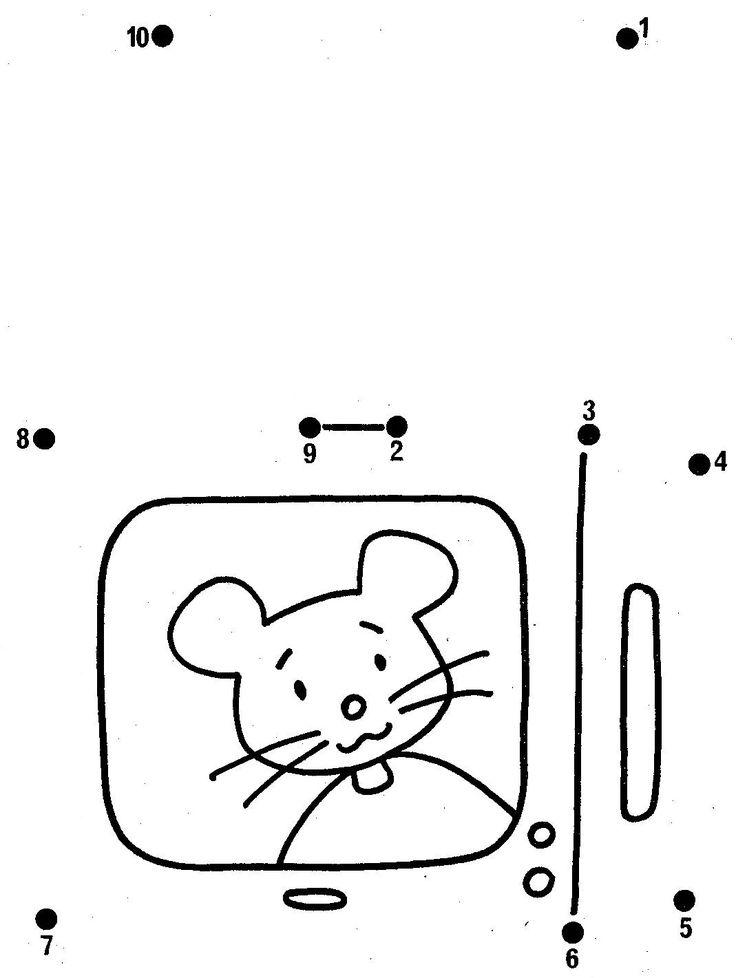 Картинка по цифрам соединить рюкзак