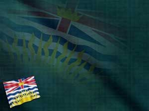 British Columbia Flag PowerPoint Templates and Backgrounds | Free Indezine #PowerPoint Templates - http://www.indezine.com/powerpoint/powerpoint-templates/5631.html
