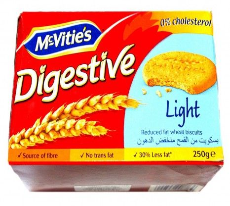 Mcvities Digestive Light 250G at Rs.123 online with shipping in India.