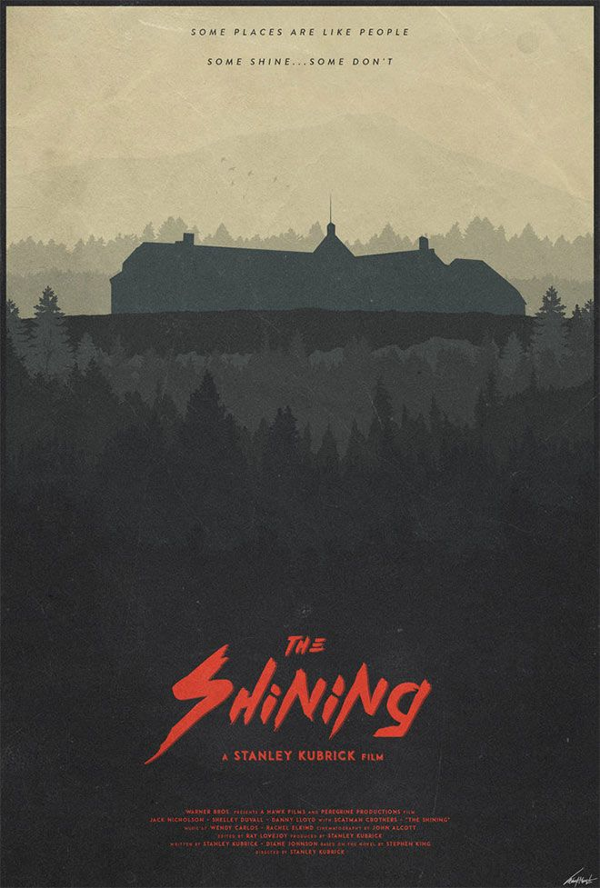 The Overlook by Edward J Moran http://edwardjmoran.deviantart.com/art/The-Overlook-The-Shining-Poster-521695184