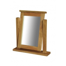 Canterbury Solid Oak MNM05 Single Dressing Table Mirror