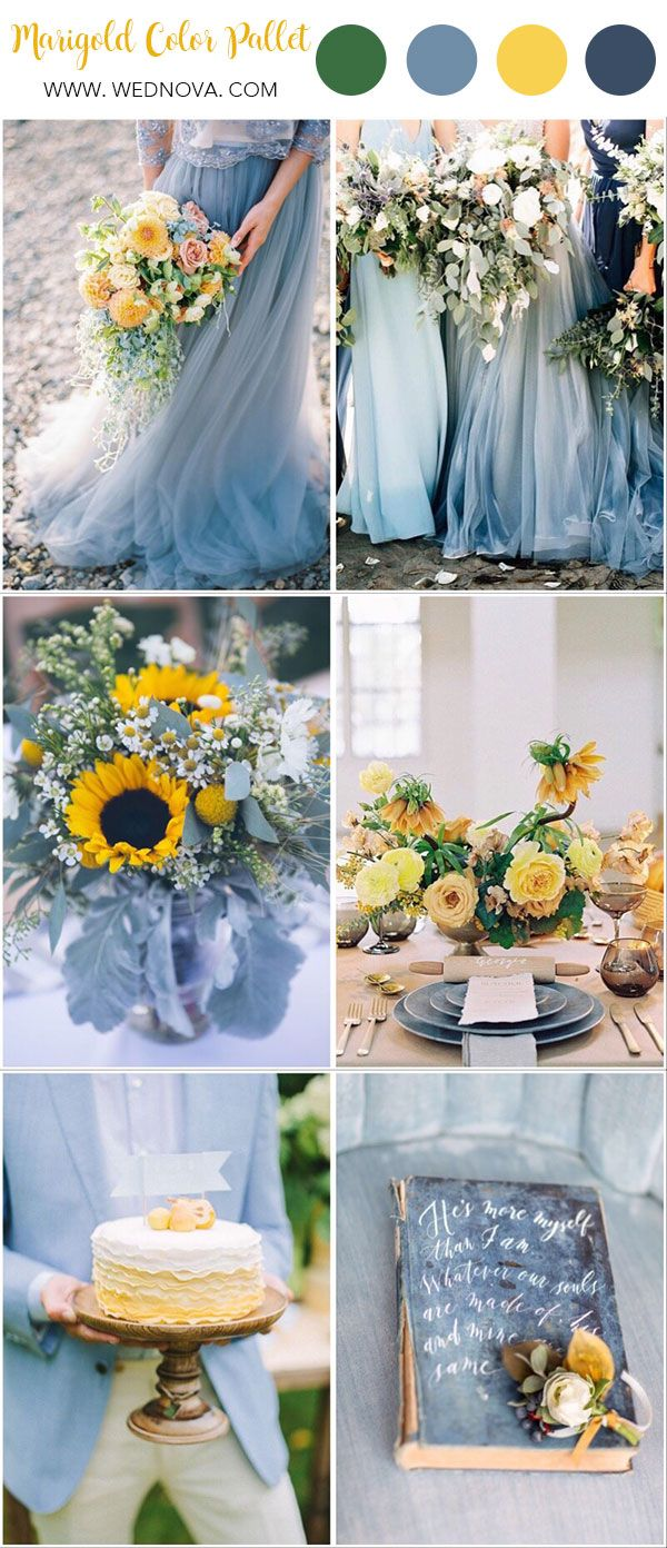 Summer Wedding Color: 10 Yellow Wedding Ideas to Have