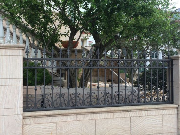 Wrought iron picket fences panels Garden security black powder coating ornamental wrought iron fence panels, View cheap wrought iron fence panels for sale, FORSUN Product Details from Quanzhou Forsun Wrought Iron Co., Ltd. on Alibaba.com