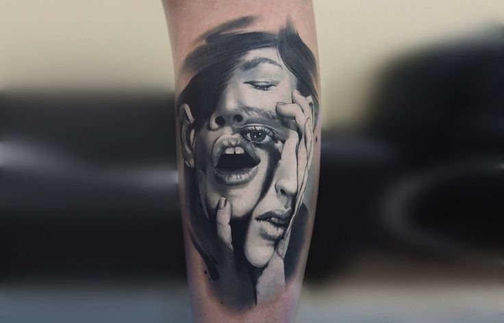 Art and Realism in Tattoo Drawings. To see more art and information about Valentina Ryabova click the image.