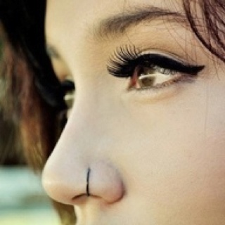Love the nose ring too (: