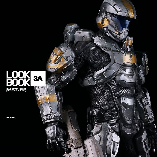 LOOKBOOK3A dedicated to Halo Spartan Recruit (Bambaland Exclusive) can be accessed at: http://issuu.com/threea/docs/lookbook3a_issue013a_halo_spartanre/0 #threeA #HALO #WorldOf3A #343industries #UNSC #LOOKBOOK3A #Bambalandstore #gaming #videogames #artpiece #toy #actionfigure #toyplanet #toycommunity #toys #hobby #toycollector #collectibles #vinyl #designertoys #toyphoto #toyphotography #collecting #toylife