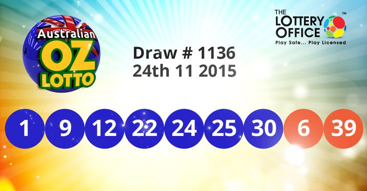Australian OZ Lotto winning numbers results are here: #LotteryResults #LotteryOffice