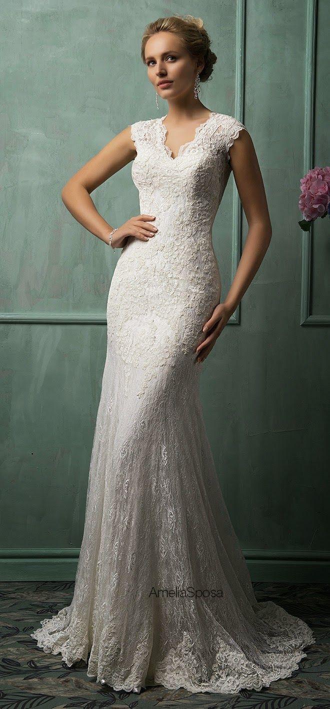 Vintage pearl bridal blog real brides news amp updates wedding - Amelia Sposa 2014 Wedding Dresses Heart Over Heels