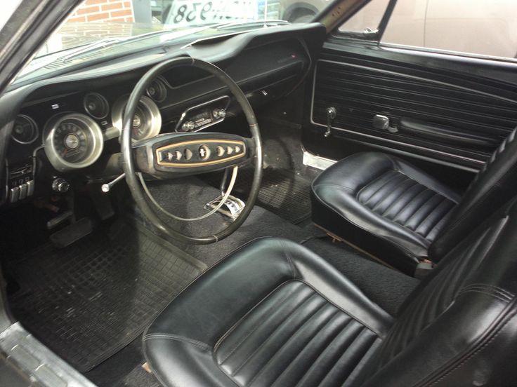 origin steering wheel, instrument bezel, radio... today everything replaced