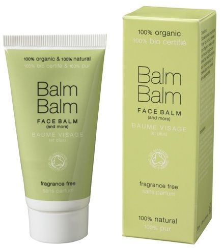 Too oily as a face moisturizer but will keep for hands and body. Balm Balm Fragrance Free Face Balm