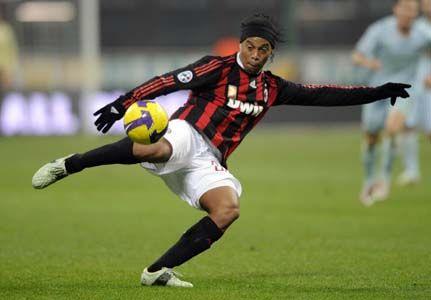Weirdest looking guy but he is amazing  Ronaldinho