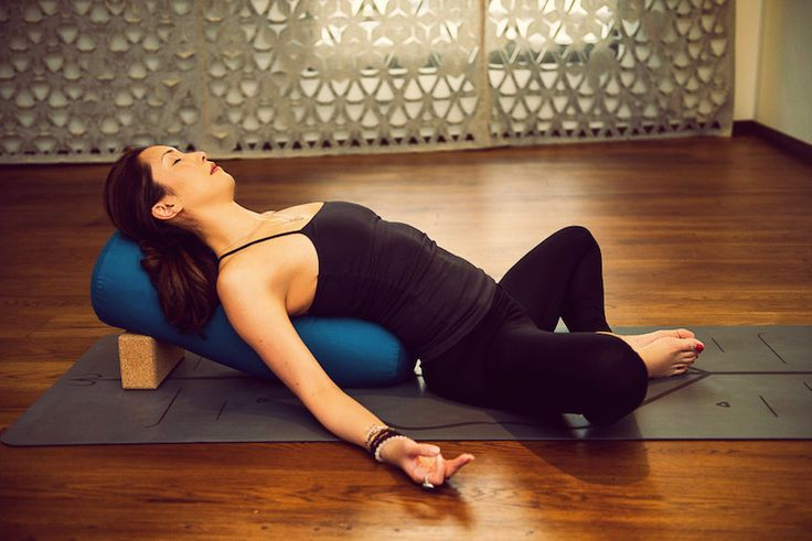 A Yin Yoga Sequence To Boost Your Metabolism & Restore Qi Flow by @LeslieSaglio