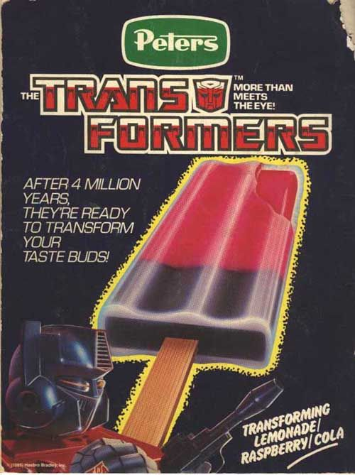 Transformers - After 4 Million Years, They're Ready To Transform Your Taste Buds!