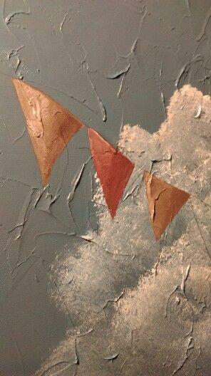 Detail, painting by Karianne Haug