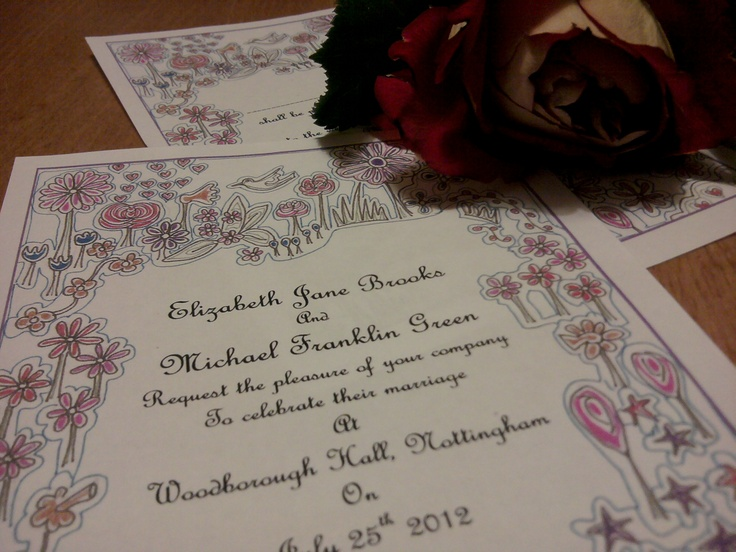 pink wedding theme flower invitations    http://montymanatee-weddings.com/wp-content/ad-images/2012/03/new-stationery-pics-2.jpg