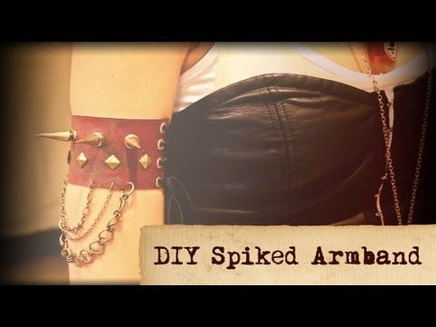Kalel's Do It Yourself(D.I.Y) Spiked Armband