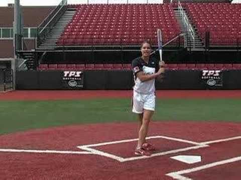 Jessica Mendoza Softball Training - HIT: Slapping - softball : Softball.com