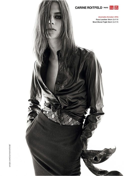 Lexi Boling photographed by Steven Meisel for Carine Roitfeld × UNIQLO Capsule Collection | 仏版ヴォーグ元編集長が手掛ける「ユニクロ」、一部ルックが公開