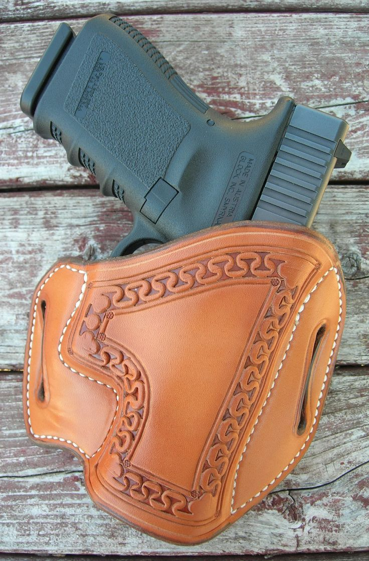 GIBSON GLOCK 19 23 32 1911 HOLSTER NATURAL