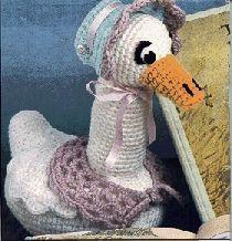 Mother Goose ~ free pattern